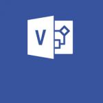Microsoft Visio. Applicatie voor het maken van technische en logische schema's. Maak complexe informatie eenvoudig zichtbaar in een diagram.